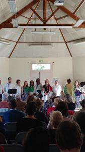 cours de chorale au foyer rural de Seugy